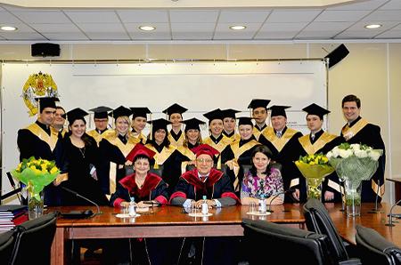Диплом магистра со степенью MBA